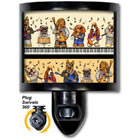 Musical Dogs Night Light