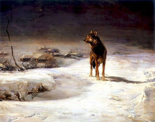 The wolf hunt nikolai sverchkov