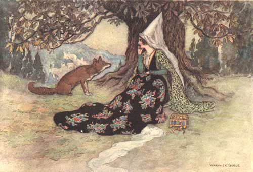 Grannonia and the fox