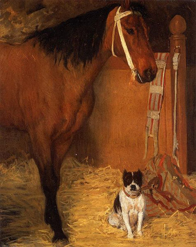 At The Stables, Horse & Dog