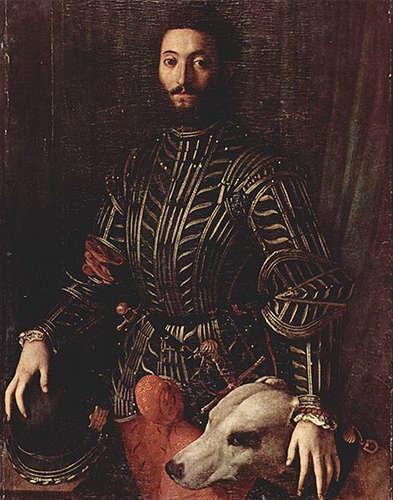 Portrait of Guido Baldo II della Rovere