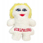 Girlfriend Fleece Dog Toy