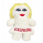 Girlfriend Fleece Dog Toy