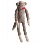 Sock Pal Monkey Plush Dog Toy