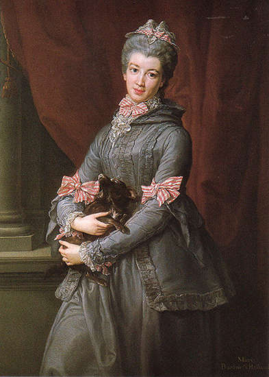 Portrait of Lady Mary Fox