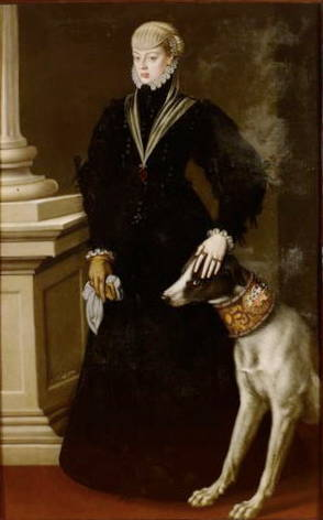 Portrait of Dona Juana Princess of Portugal