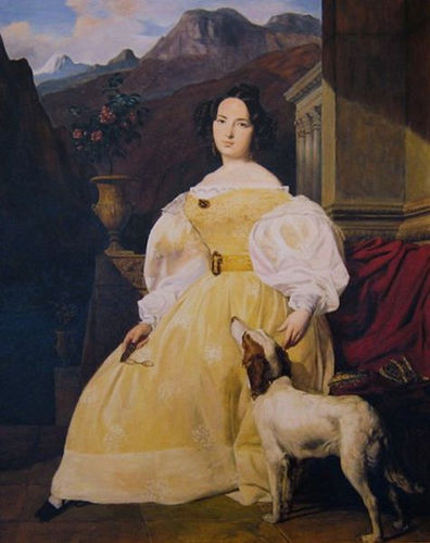 Portrait of Madam Hanska