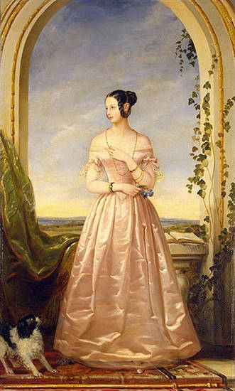 Portrait of the Grand Duchess of Russia, Alexandra Nikolaievna