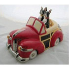 Mr & Mrs Magee Convertable Woody Cookie Jar